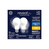 Reveal - A21 LED Bulb - 12.5 W =100 W - 2/Pack