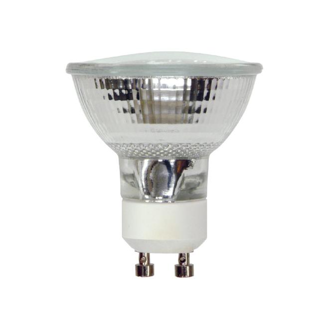Ampoule de style projecteur, MR16, GU10, 50 W, blanc, 6/pqt