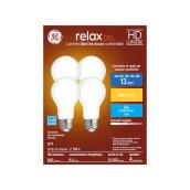 LED Bulb - A19 - 9 W - Glass - Soft White - 4-Pack