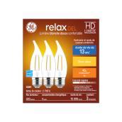 LED Bulb - CAM HD - 4 W - Glass - Soft White - 3-Pack