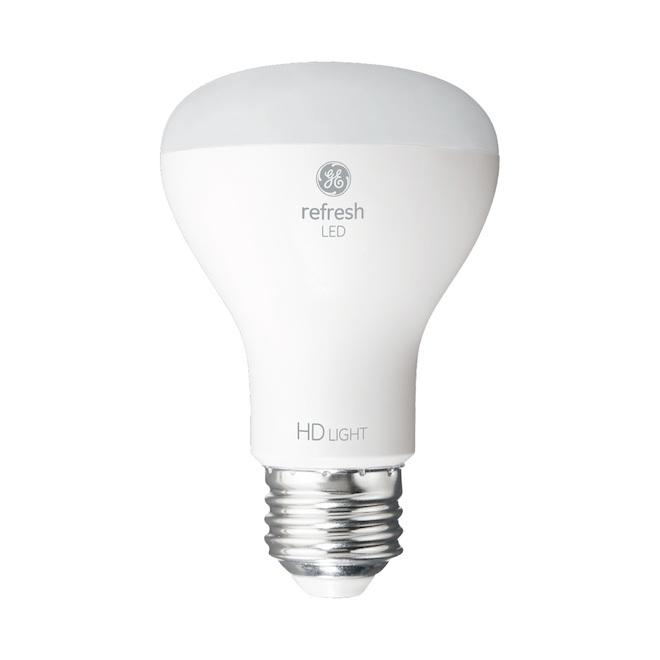 Ampoules DEL GE, R20, 7 W, 2/pqt, lumière du jour