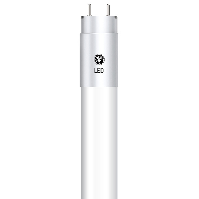 GE Warm White 32W Replacement LEDG13 Base 48-in T8 Tube (2-Pack)