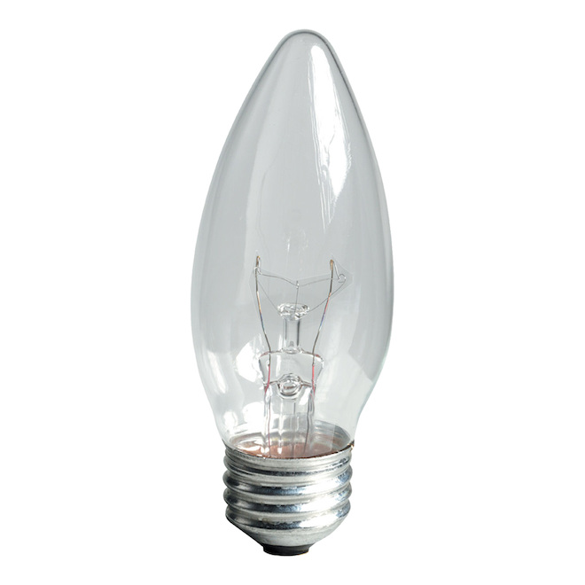 GE Incandescent Bulb - Soft White - B13 - 25 W - 6/Pack