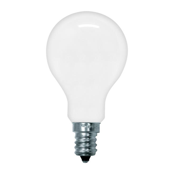 Ampoules incandescentes GE, blanc doux, 60 W, paquet de 2
