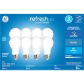 GE Daylight 60W Replacement LED General Purpose A19 Bulbs (8-Pack)