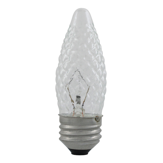 Faceted Incandescent Bulb - B10M - 40W - Soft White - 6/Pack