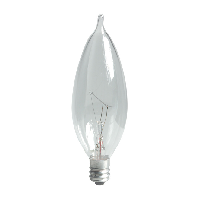 GE Incandescent Bulb - CAC FR - 60 W - Soft White - 6/Pack