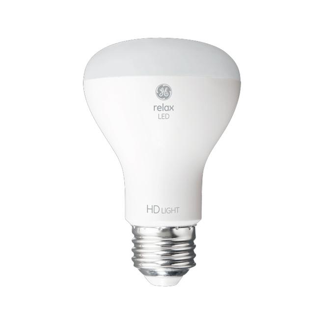 Ampoule DEL GE, R20, 7 W, blanc doux, 2/pqt