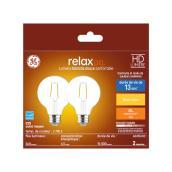 GE LED Bulb - G25 - 4.5 W - Soft White - 2/Pack