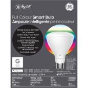 Ampoule DEL GE, BR30 intelligente, 10 W, couleurs variables