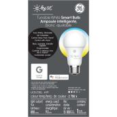 Ampoule DEL GE, A19 intelligente, 9,5 W, couleurs variables
