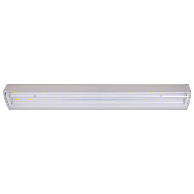 GE LED Fluorescent Tube Grow Fixture - Seeds and Greens - 40W - 24-in