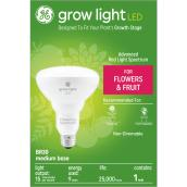 GE Grow Light 30W Advanced Red Spectrum LED BR30 Indoor Fixture (1-Pack)