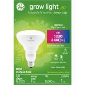 GE Grow Light 9W Balanced Spectrum LED BR30 Light Bulb (1-Pack)