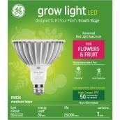 GE Grow Light 30W Advanced Red Spectrum LED PAR38 Light Bulb (1-Pack)