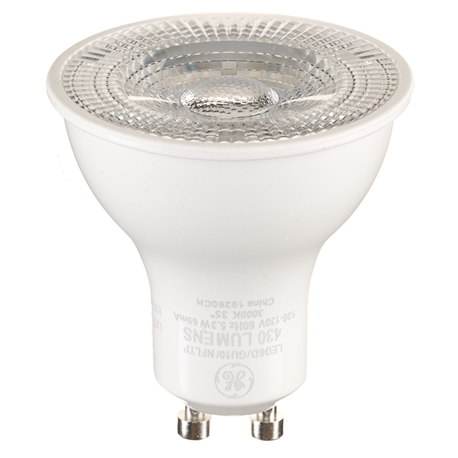 GE MR16 GU10 LED Bulbs - 50 W Equivalent - Warm White - 12/Pack