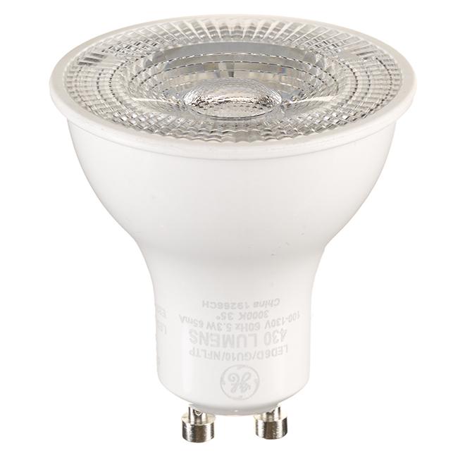 Reveal LED Bulb - GU10 - 5.3 W - Warm White - 6/Pack