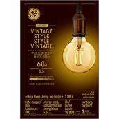 Ampoule DEL vintage, ambrée, G30, 5,5 W