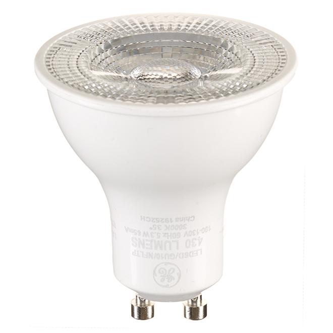 LED Bulb - GU10 MR16 - 6 W - Warm White - 3/Pack