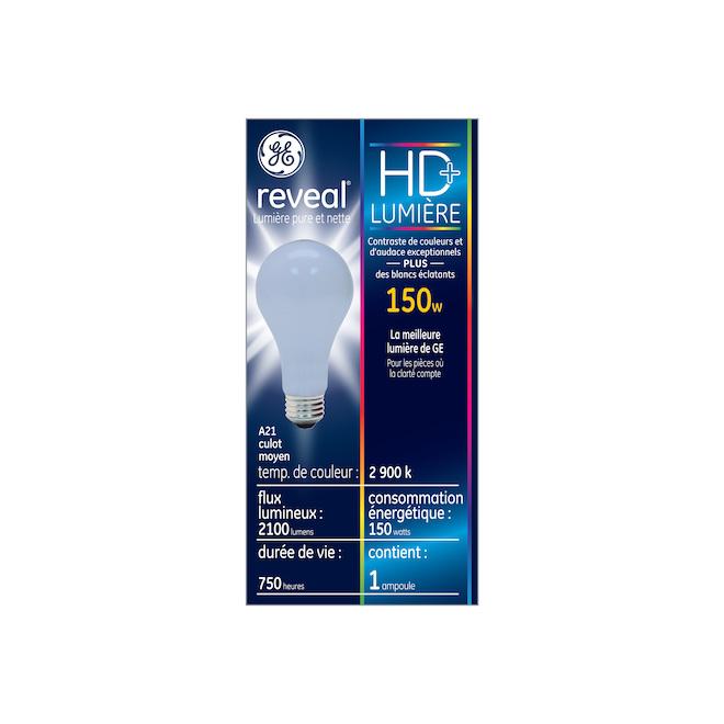 Ampoule DEL Reveal(MD), A21, 150 W, clair