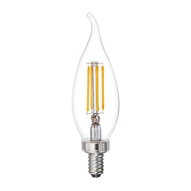 Ampoule DEL GE, CAC, 6 W, blanc doux, 6/pqt