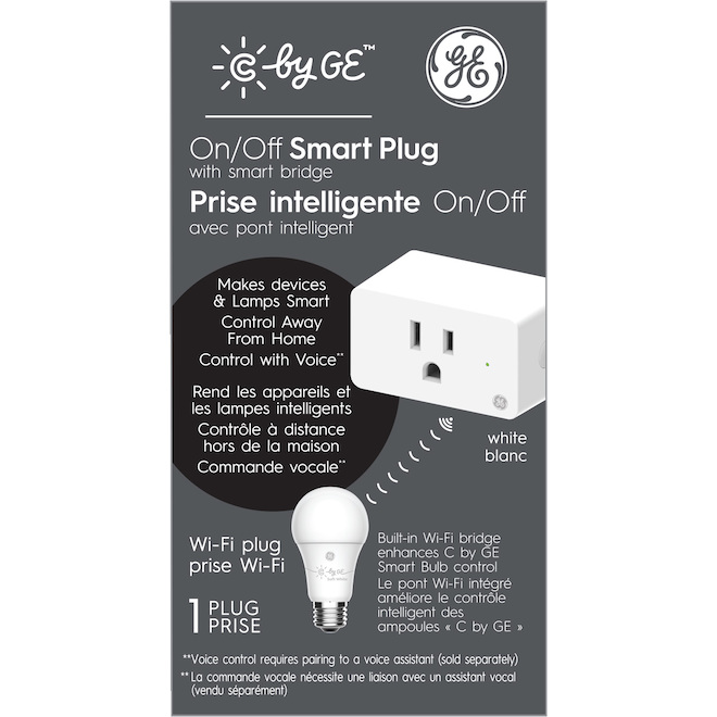 Power Outlet -Smart Plug A19 - White