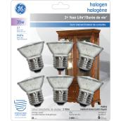 Halogen Bulb - MR16 JDR - 35 W - Glass - Soft White - 6-Pack