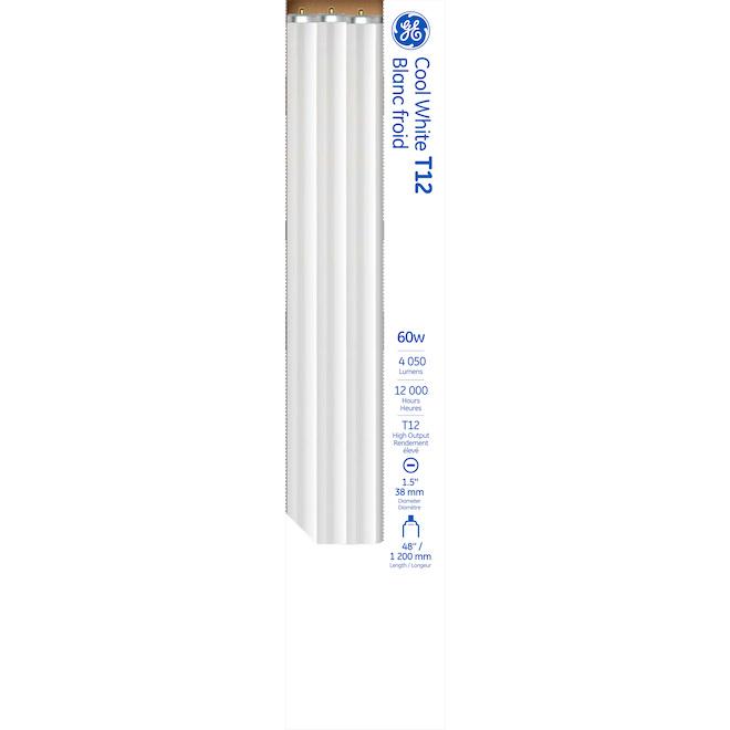 "GE Fluorescent Tube T12 - 9.0 W - 48"" - Cool White"