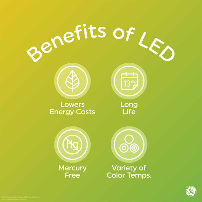 GE Cool White 32 W Replacement LED 48-in T8 Light Bulb (8-Pack)