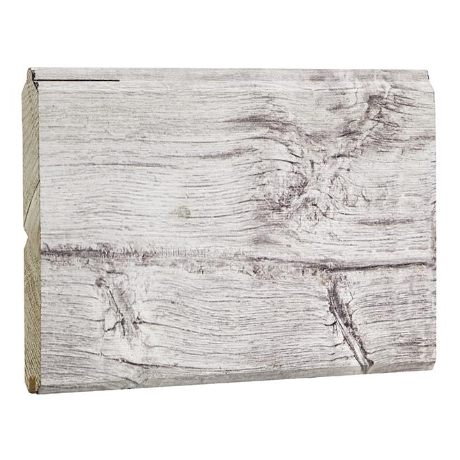 "Printed Pine Wall Covering - 8"" x 96 1/4"" - Antarctic"