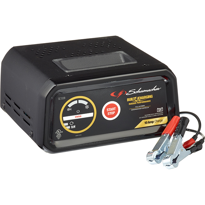 Schumacher(R) Automatic Battery Charger - 10 A - 12 V