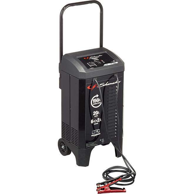 Battery Charger/Engine Starter - 2 A/20 A à 6 A/150 A - 12 V