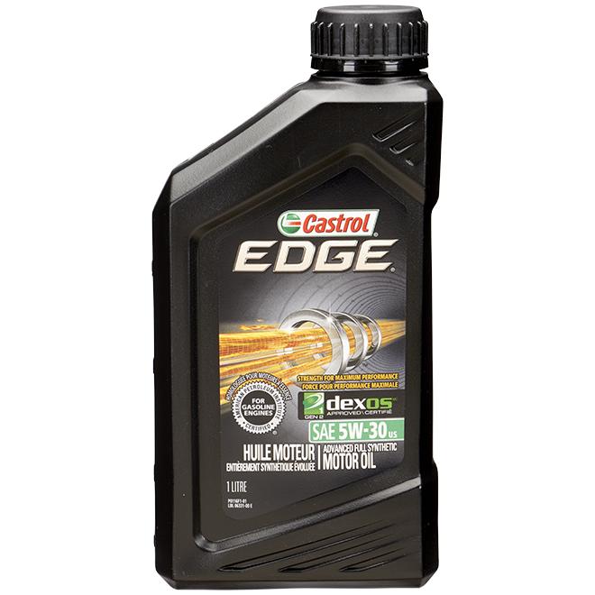 Motor Oil - SAE 5W-30 - Edge - Black - 1 L