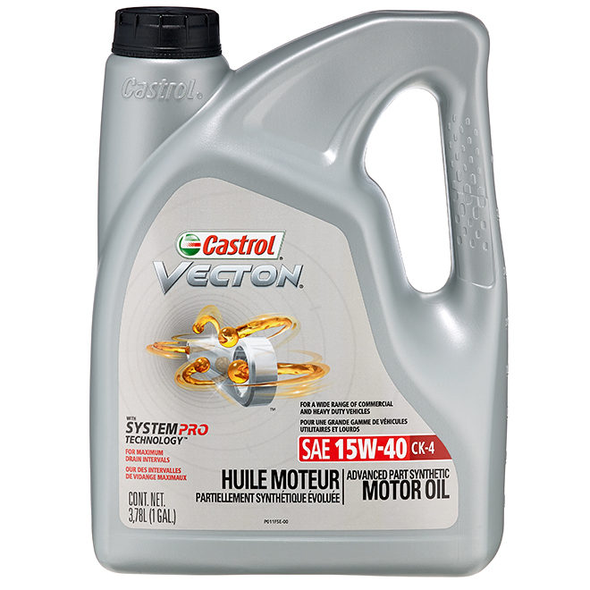 Motor Oil - Part Synthetic - 15W-40