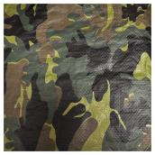 Camouflage Tarpaulin - 10' x 15'