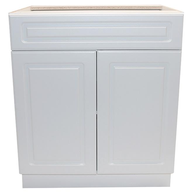 """Armoire de plancher Wilshire, 2 portes, 1 tiroir, 24"""""""