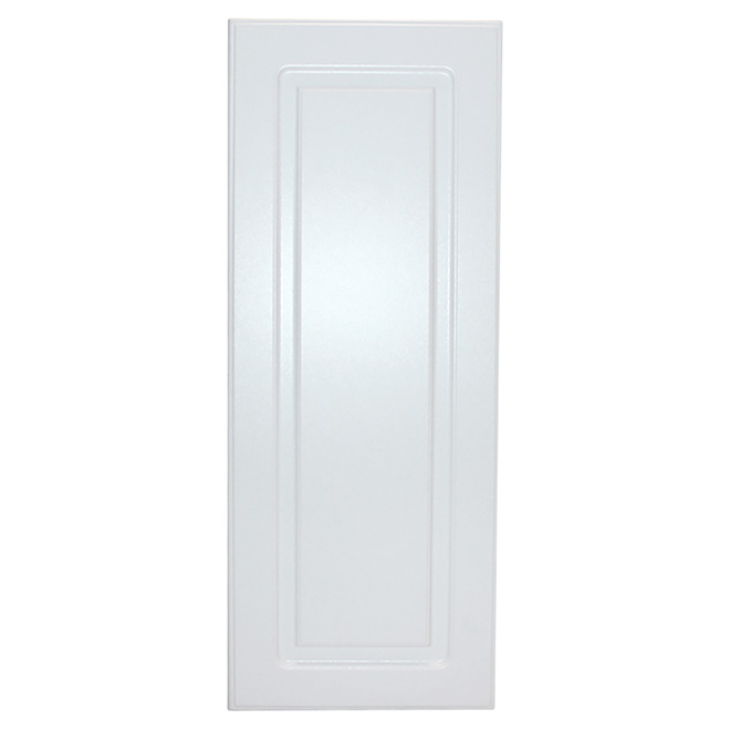 "Cabinet Door - Wilshire - Raised Panel - 15"" - White"