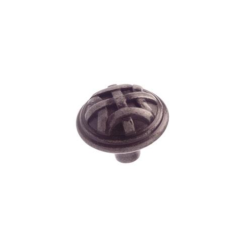 Bouton en métal fer forgé