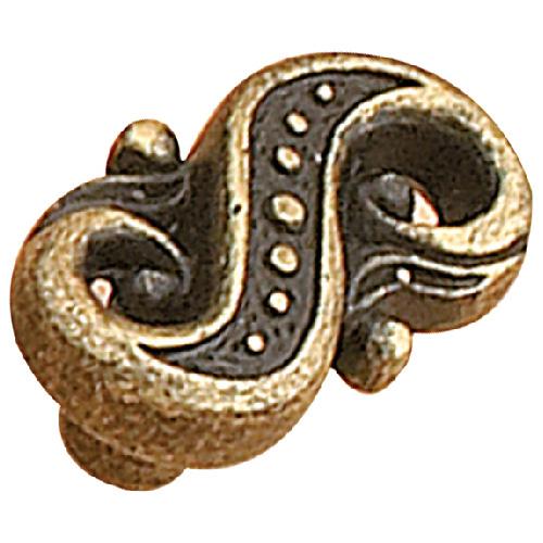 Bouton d'armoire en métal - Laiton