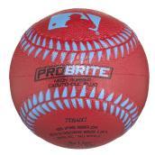 Balle de baseball, modèle « ProBrite », couleur assortie