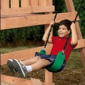 Commercial-Grade Swing Seat
