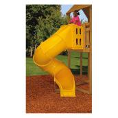 Spiral Tube Slide Playset Accessory