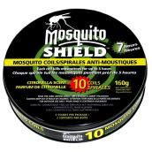 Mosquito Coils - Citronella Scented - 160 g - 10 Pack
