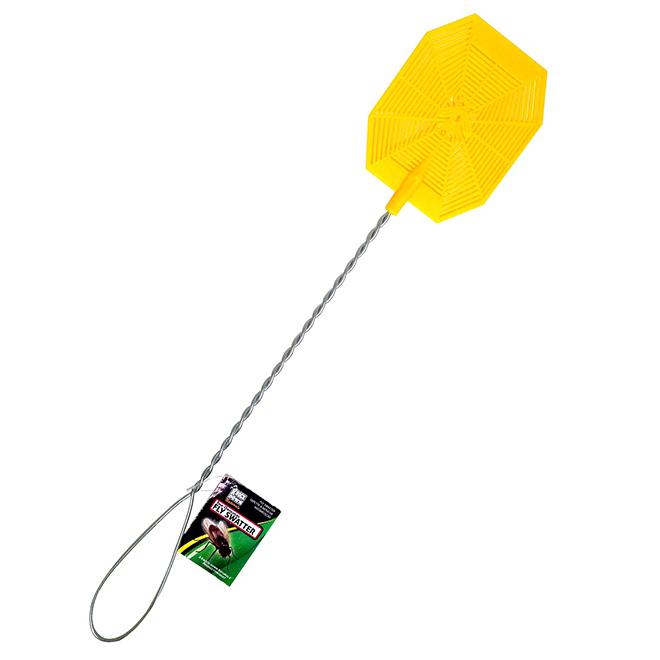 Fly Swatter - Plastic/Metal - Yellow