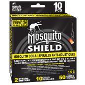 Mosquito Coils - Citronella Scent - Pack of 10