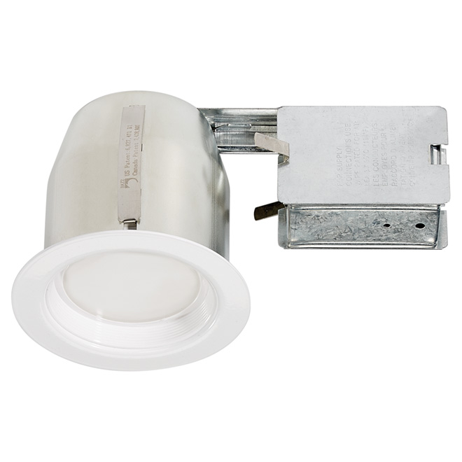 integrated led recessed fixture 4 rona