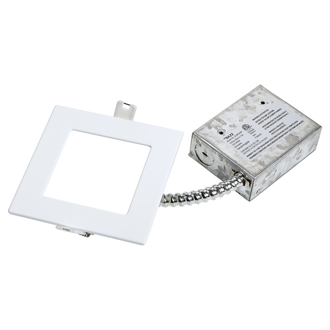 Dimmable Recessed Light - SLIM - 11W LED - Matte White