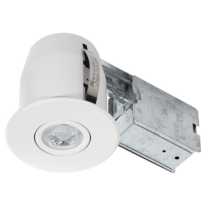 Directional Recessed Light - Studio - 7W LED - Matte White