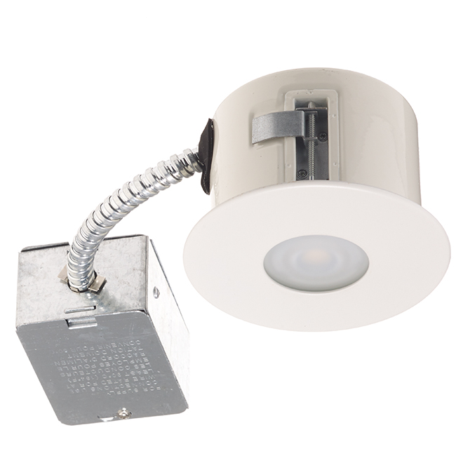 Recessed shower light 7w led 3 78 matte white rona recessed shower light 7w led 3 78 matte white aloadofball Images
