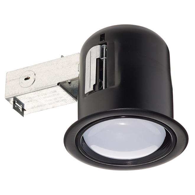 Bazz LED EXT 4.5-in Recessed Soffit Light - 11 W LED PAR30 - Matte Black